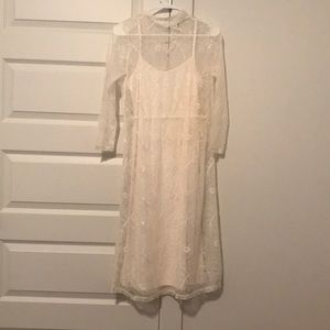 Ivory ASOS dress BRAND NEW w/o tags